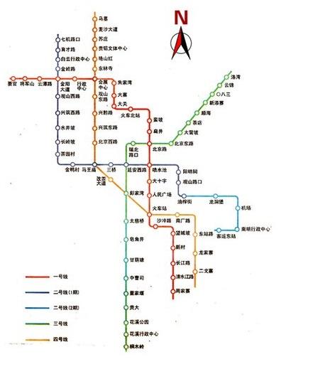 贵阳地铁1号线开通后 城区有效缓堵